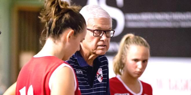 Aldo Corno, allenatore della VelcoFin Vicenza