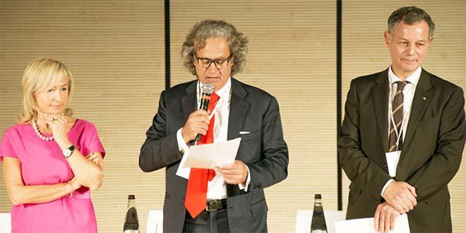 Da sinistra: Maria Cristina Piovesana, Massimo Finco e Luciano Vescovi