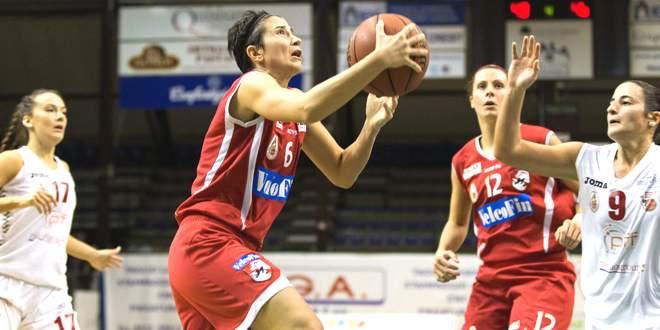 Maria Giulia Pegoraro, per lei 17 punti contro Ferrara