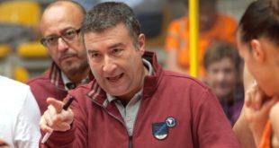 Miguel Mendez, allenatore del Beretta Famila Schio