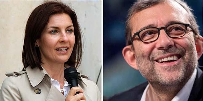 Alessandra Moretti e Roberto Giachetti