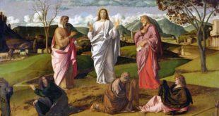 Giovanni Bellini - La Trasfigurazione di Cristo (1478) - Museo nazionale di Capodimonte, Napoli