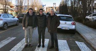 Da sinistra: Diego Rigoni, Franco Sella e Renzo Marangon