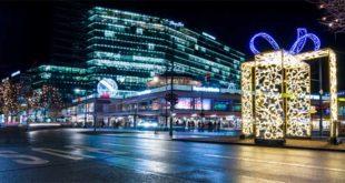"""Il """"Kudamm"""" o più propriamente Kurfürstendamm, viale dello shopping di Berlino teatro ieri dell'attentato"""