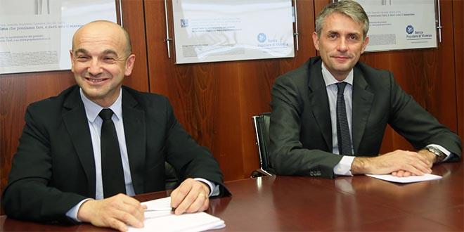 Da sinistra: Luca Reverberi e Iacopo De Francisco