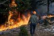 C'è un grave pericolo di incendi boschivi