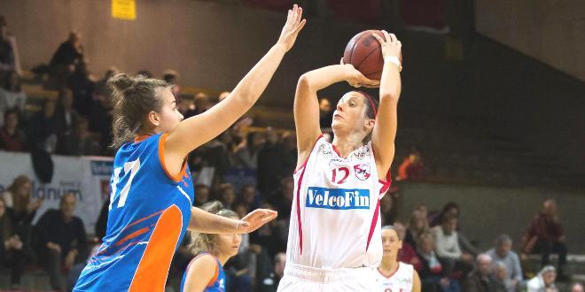 Lucia Ferri, capitana della VelcoFin Vicenza