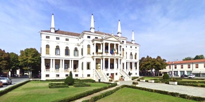 Il municipio di Noventa Vicentina