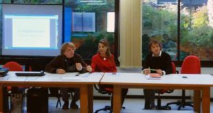 Da sinistra, Gigi Creazzo, Veronica Cecconato e Antonio De Sanctis