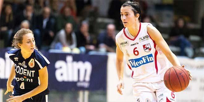 Maria Giulia Pegoraro, per lei 15 punti nel derby veneto con le veronesi di Alpo