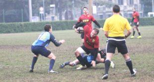 Un fase di gioco del match tra Bassano e Castelfranco. Foto di Stefano Sartore