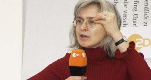 Anna Politkovskaja - Foto: Das blaue Sofa, Club Bertelsmann, flickr.com (CC BY 2.0)