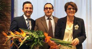 Da sinistra: Giovanni Battista Comiati, Maurizia Rizzo e Pierangelo Raineri