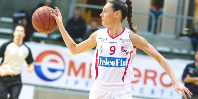 Valentina Stoppa, guardia della VelcoFin Vicenza