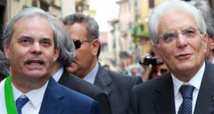 Variati e Mattarella assieme, durante una visita del presidente della Repubblica a Vicenza