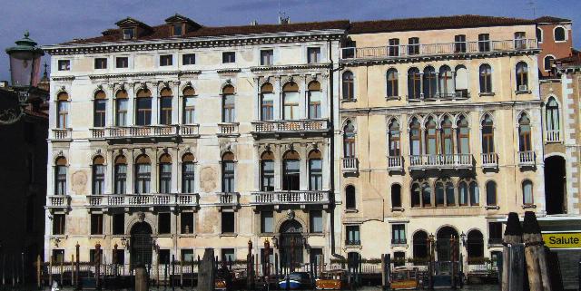 Palazzo Ferro Fini, a Venezia, sede del consiglio regionale. Foto di Stefano Remo (CC BY-SA 3.0)