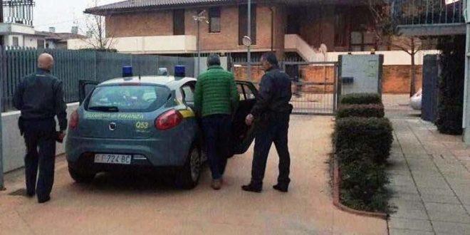 L'arresto di oggi da parte della Guardia di Finanza di bassano del Grappa