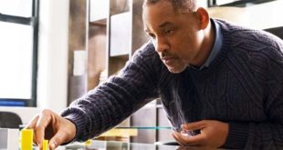 "Will Smith in una scena del film ""Collateral Beauty"", di David Frankel"