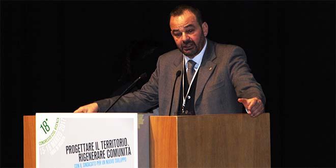 Il segretario generale provinciale di Cisl Vicenza Raffaele Consiglio