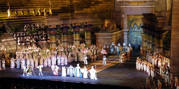 Un allestimento dell'Aida, di Verdi, all'Arena di Verona - Foto: Jakub Hałun (CC 3.0)