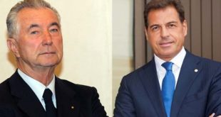 Gianni Zonin ed Emanuele Sorato
