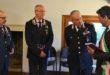 Vertici dei carabinieri alla mostra di uniformi storiche