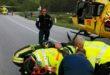 Arsiero, motociclisti volano in una scarpata. Gravi