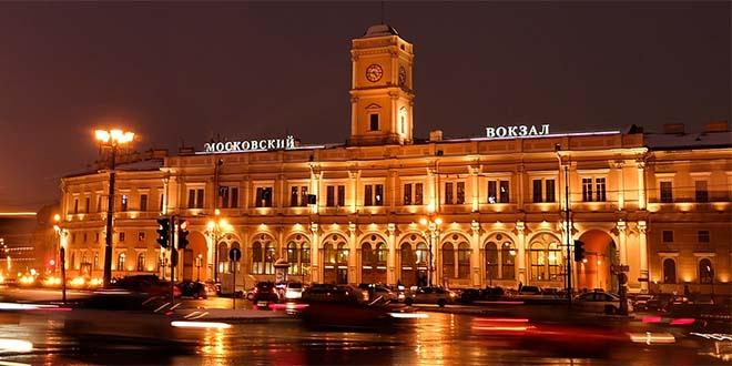 San Pietroburgo di sera