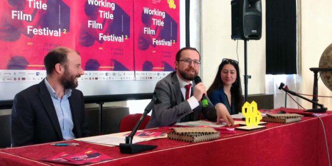 Da sinistra: Giulio Todescan, Jacopo Bulgarini d'Elci e Marina Resta, alla presentazione del festival