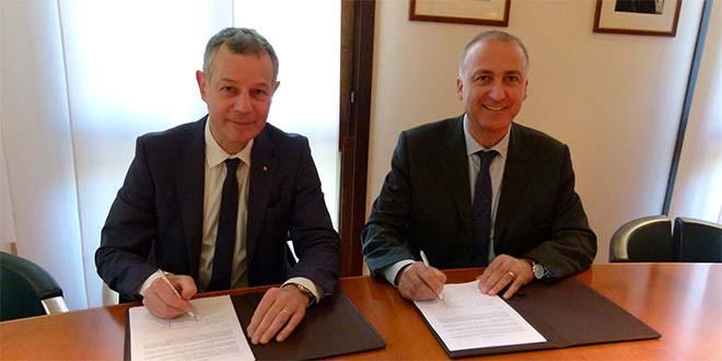 Da sinistra: Luciano Vescovi e Pietro Paolo Lucente