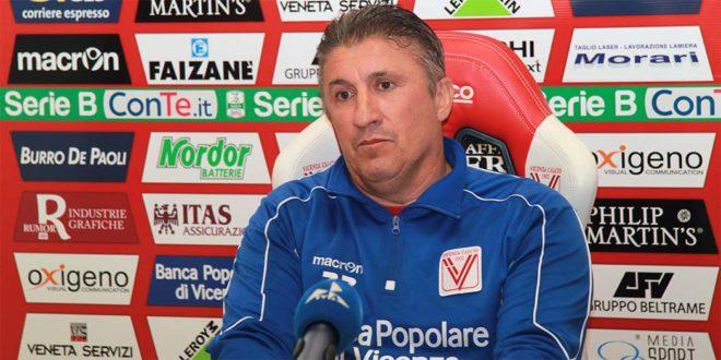 Vincenzo Torrente, nuovo allenatore del Vicenza