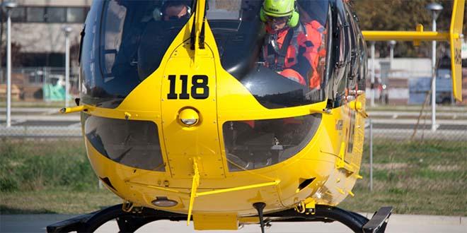 """Nell'ambito del progetto """"Scuola sicura"""" gli alunni assisteranno all'atterraggio di un elicottero del Suem"""
