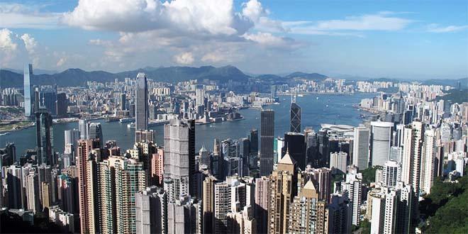Un veduta di Hong Kong