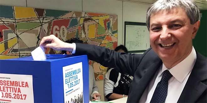 Nicola Rossi, eletto presidente della Confesercenti d'area del Veneto Centrale