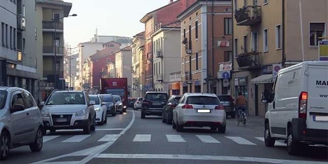 Smog, scatta il livello arancione a Vicenza
