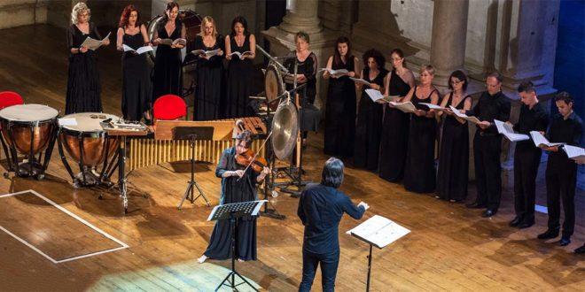 Sonig Tchakerian in concerto al Teatro Olimpico (Foto di Luigi De Frenza)