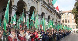 Alpini a Treviso durante l'adunata 2017