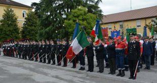 La celebrazione dell'anniversario dell'Arma al Coespu di Vicenza, nel 2017