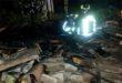 Notte di incendi. A fuoco un tetto ed una casa