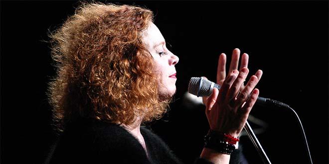 La cantante britannica Sarah-Jane Morris