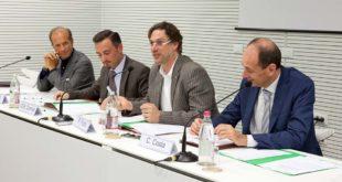 Da sinistra: Corrado Facco, Giovanni Battista Comiati, Roberto Frizzo, Carlo Costa