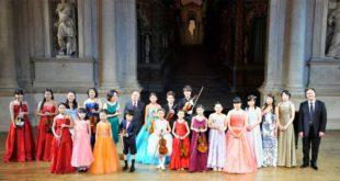 Giovani musicisti giapponesi al Teatro Olimpico