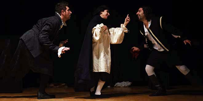 """Teatro, """"Il mercante di Venezia"""" a Villa Pojana"""