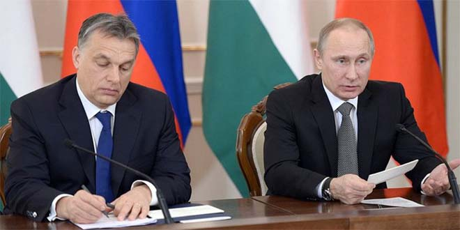 Viktor Orban, a sinistra, con il presidente russo Vladimir Putin - Foto: Kremlin.ru (CC BY 4.0)