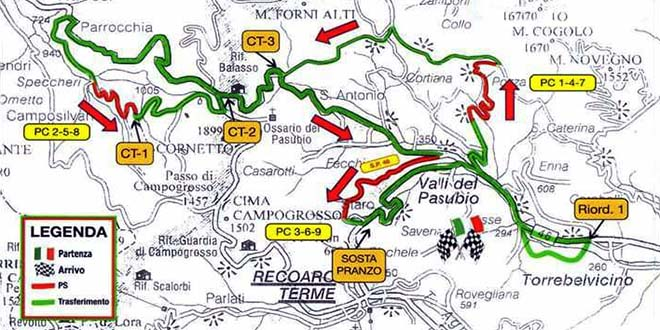 Valli del Pasubio, tutto pronto per il Rally Historic