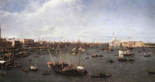 Il Bacino di San Marco verso est - Canaletto (1730)