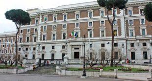 Il Palazzo del Viminale, a Roma, sede del Ministero dell'Interno