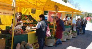 Domenica il mercato Campagna Amica di Coldiretti sarà presente ad Asiago. Immagine d'archivio