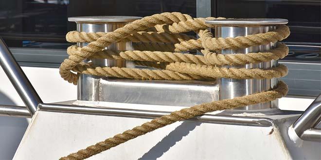 Un corda di canapa