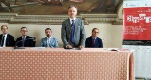 """Un momento della presentazione di """"Citemos"""". Da sinistra: Boschiero, Vescovi, Dalla Pozza, Bonomo, Fabris"""